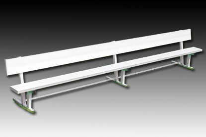 15' Bench with Back