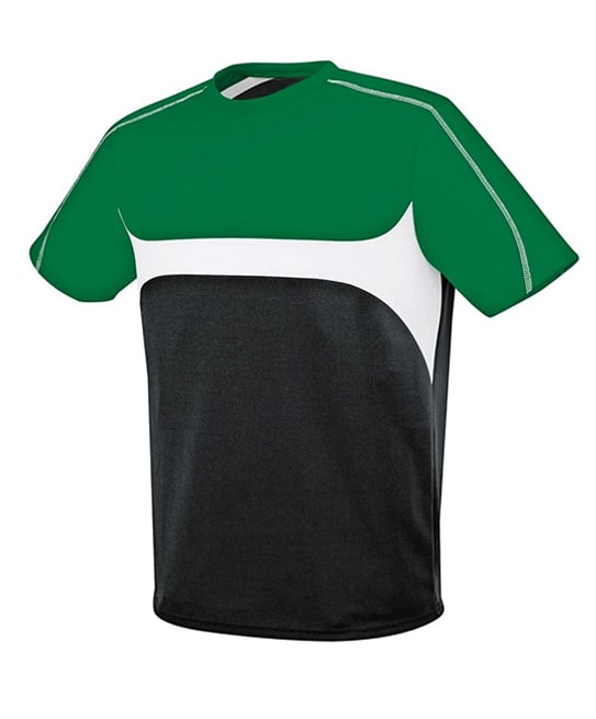 green and black jersey