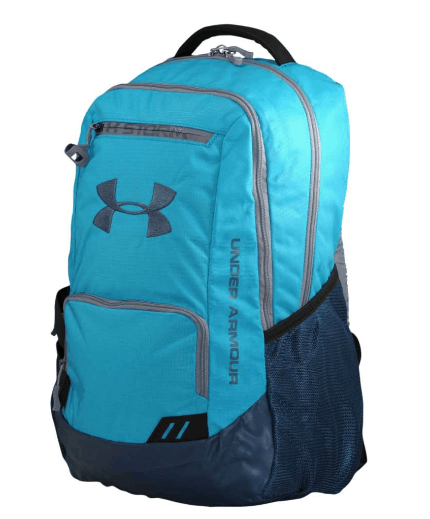 "... first to review ""Under Armour Hustle Soccer Backpack"" Cancel reply"