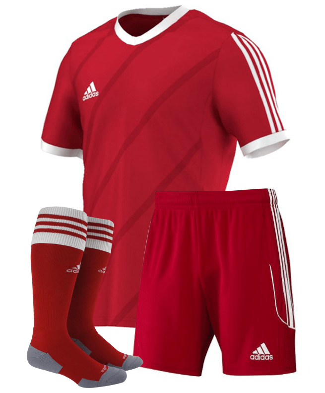 Soccer team uniforms