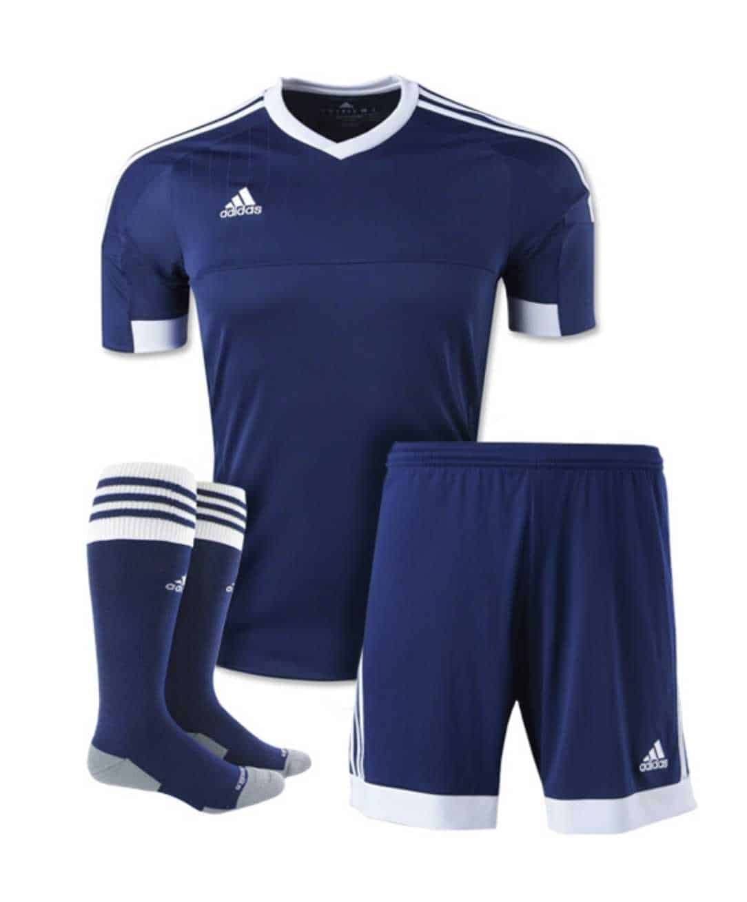 adidas soccer clothes shirts and shorts