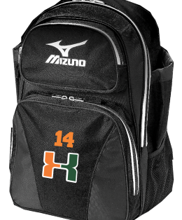 HITT MIZUNO Bag Black