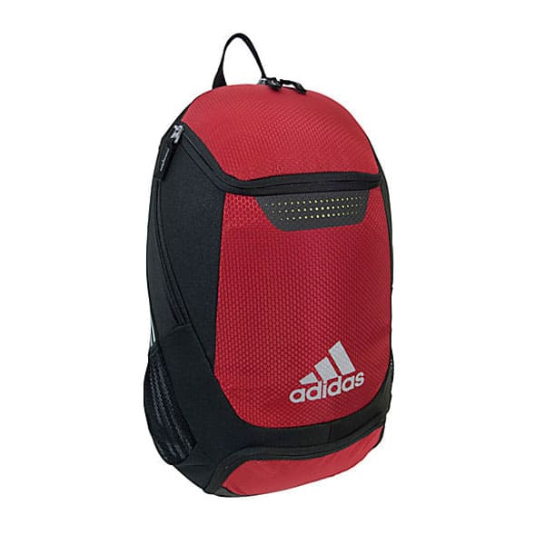 adidas red backpack