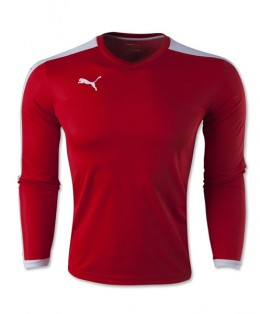 Puma-Pitch-LS-Jersey-Red
