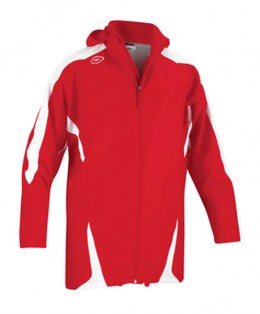 Xara-Real-Rain-Jacket-Red-White