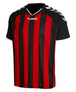 hummel striped jersey