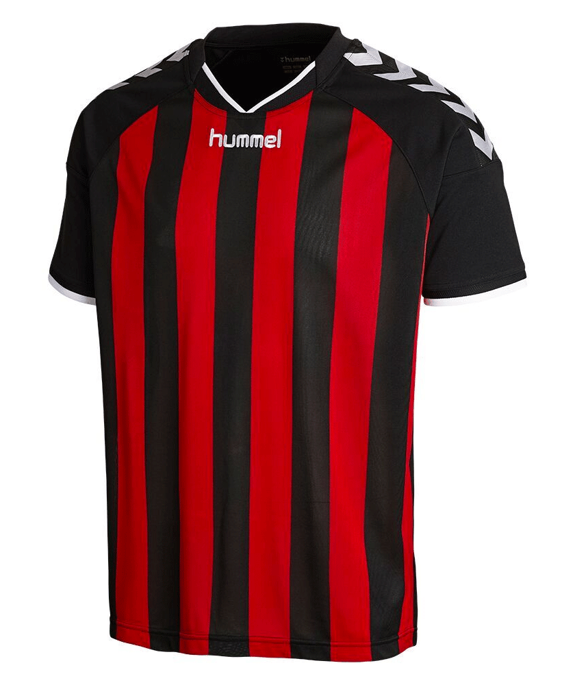 bddcfe66083 HHummel Stay Authentic Striped Soccer Jersey - theteamfactory.com
