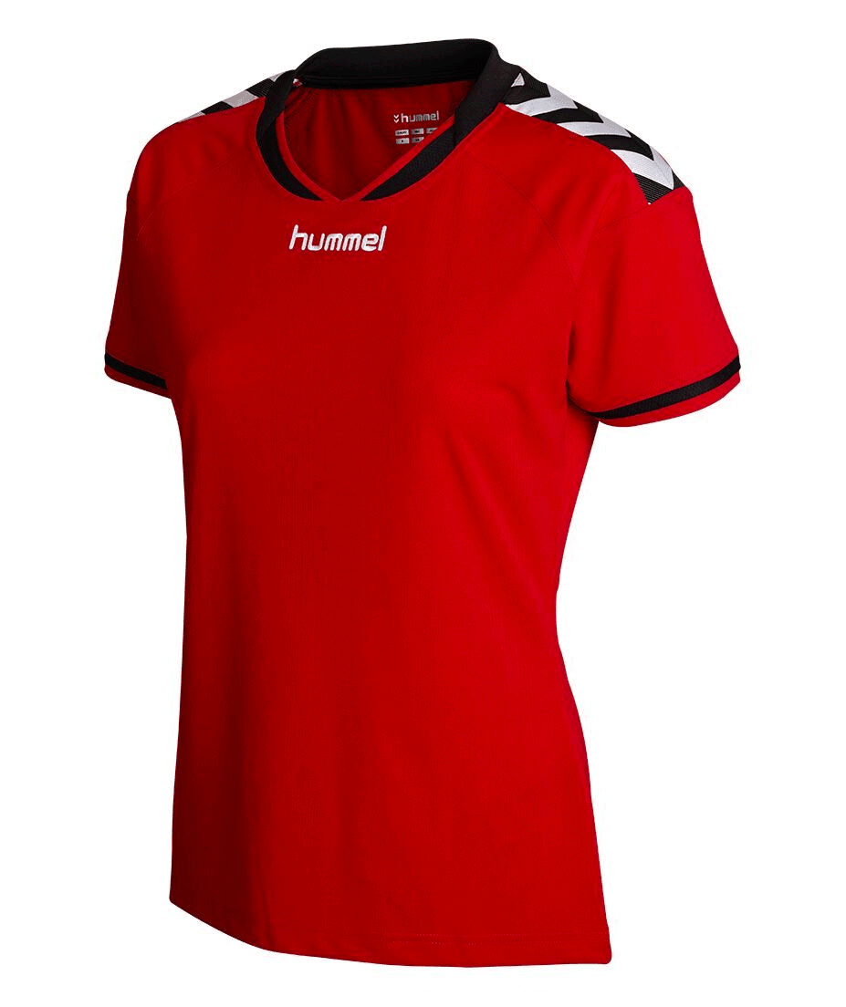 Hummel Womens Stay Authentic Soccer Jersey - theteamfactory.com 3748dca77