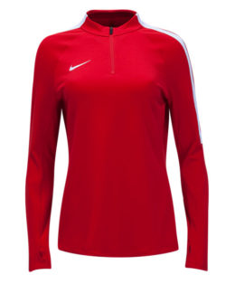 Nike-Women-Squad2-17-Drill-Top-(Red-White)